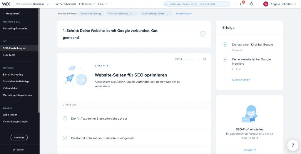 Wix oder WordPress Uster Wetzikon Dübendorf
